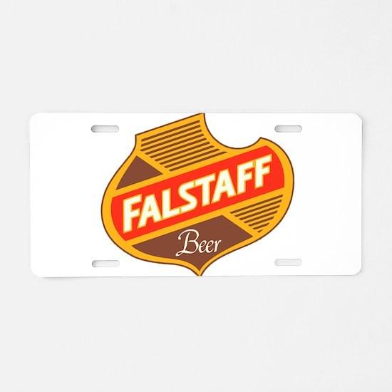 Falstaff beer design Aluminum License Plate