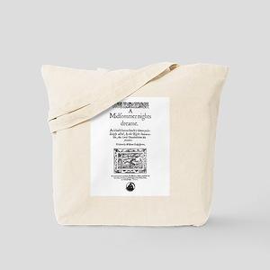 Midsummer Nights Dream Tote Bag