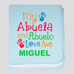 My Abuela And Abuelo Love Me Personalized baby bla