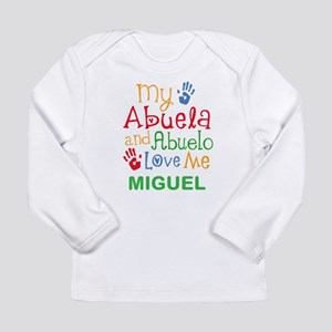 My Abuela And Abuelo Love Me Personalized Long Sle