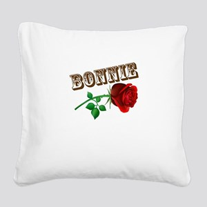 Bonnie and Clyde shirts Square Canvas Pillow