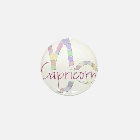 Capricorn (Zodiac symbol: Mountain sea Mini Button
