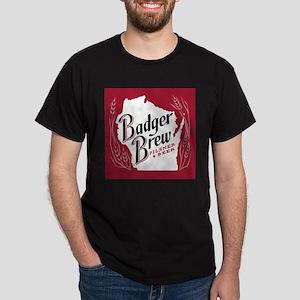 Badger Brew Beer Label T-Shirt