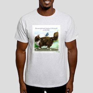 Smart fly high cat light T-Shirt