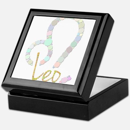 Leo (Zodiac symbol: Lion) (Candies) Keepsake Box