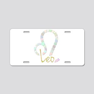 Leo (Zodiac symbol: Lion) ( Aluminum License Plate