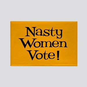 Nasty Women Vote Rectangle Magnet Magnets