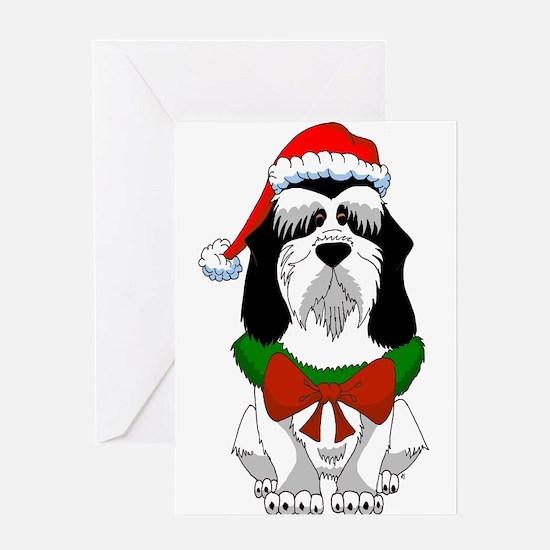 PBGV Christmas Greeting Cards
