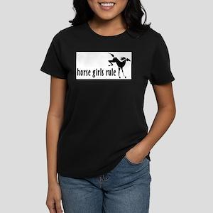 horse girls rule Ash Grey T-Shirt