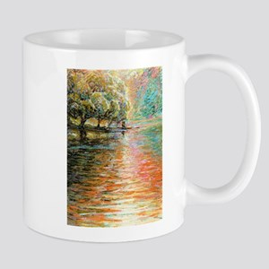 Quiet Lake in Pastel Mugs