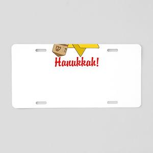 Merry Hanukkah! Aluminum License Plate