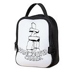 Vancouver Inukshuk Souvenir Neoprene Lunch Bag