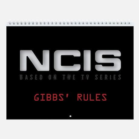 NCIS Wall Calendar
