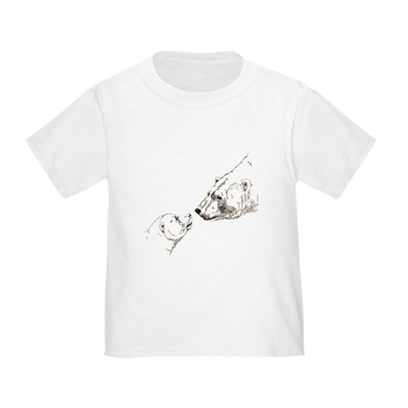 Polar Bear & Cub Toddler T-Shirt
