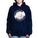 Polar Bear & Cub Women's Hooded Sweatshirt