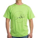 Polar Bear & Cub Green T-Shirt