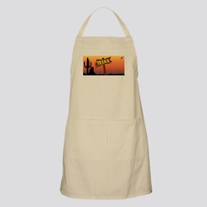 Texas Border Sign Light Apron