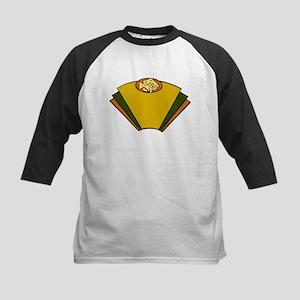 Fish Art Deco Baseball Jersey