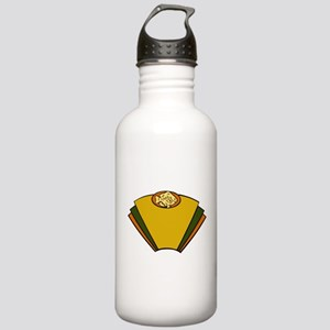 Fish Art Deco Stainless Water Bottle 1.0L