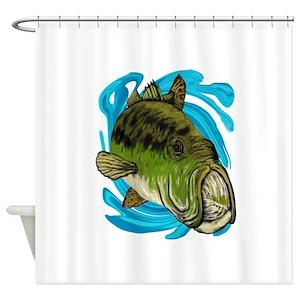 Smallmouth Bass Shower Curtains