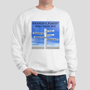 World Travel 2018 Sweatshirt