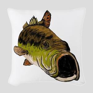 STRIKE Woven Throw Pillow