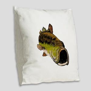 STRIKE Burlap Throw Pillow