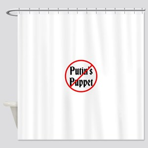 Putin's Puppet Shower Curtain