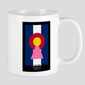 Colorado Woman Logo (Stars) Mugs