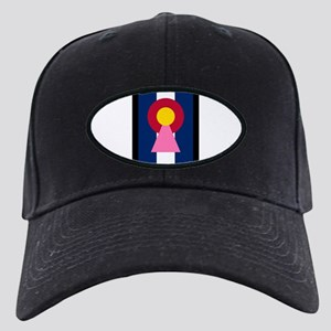 Colorado Woman Logo (Stars) Baseball Hat