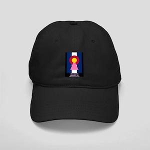 Colorado Woman Logo (Stripes) Baseball Hat