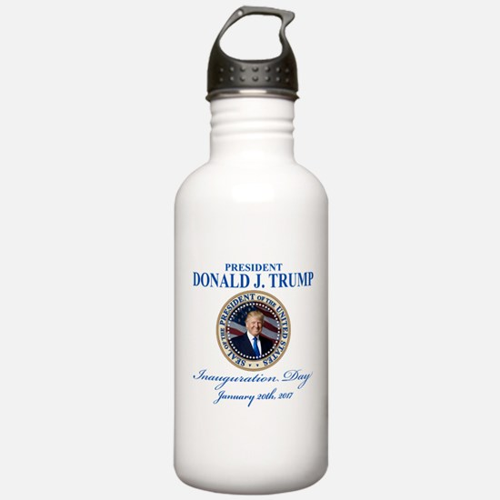 President Donald Trump Water Bottle