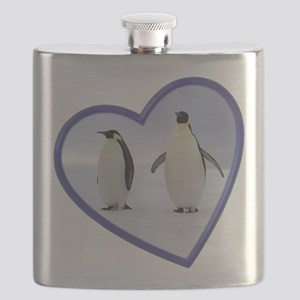 Emperor Penguins Flask