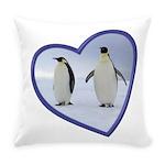 Emperor Penguins Everyday Pillow