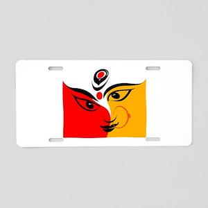 DURGA Aluminum License Plate