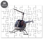 Helicopter Flying Aviator Puzzle