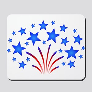 Stars & Stripes 4th of July Mousepad