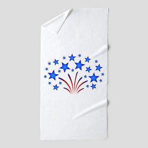 Stars & Stripes 4th of July Beach Towel