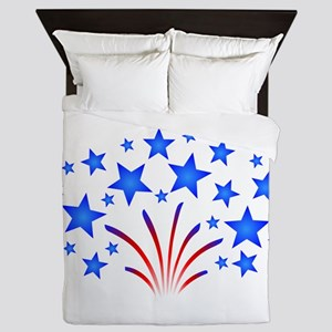 Stars & Stripes 4th of July Queen Duvet