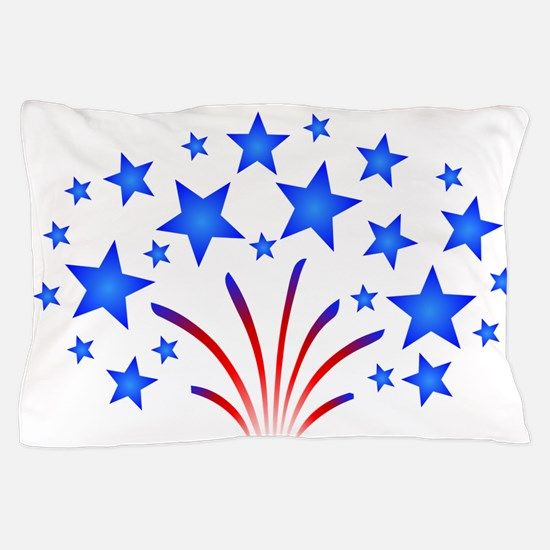 Stars & Stripes 4th of July Pillow Case