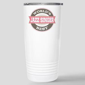 jazz singer Stainless Steel Travel Mug
