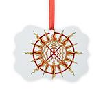 Native Spirit Art Picture Ornament