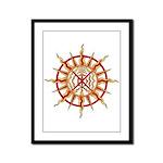 Native Spirit Art Framed Panel Print