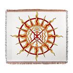 Native Spirit Art Woven Blanket