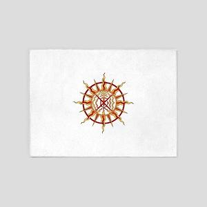 Native Spirit Art 5'x7'Area Rug