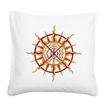Native Spirit Art Square Canvas Pillow