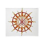 Native Spirit Art Throw Blanket