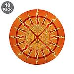 """Native Spirit Art 3.5"""" Button (10 pack)"""
