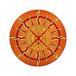 Native Spirit Art Button