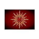 Native Spirit Art Rectangle Magnet (100 Magnets
